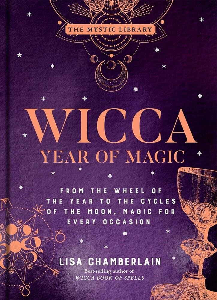 Lisa Chamberlain - Wicca Year Of Magic (Hcvr) (Ill)