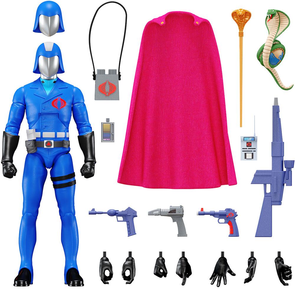 G.I. Joe Ultimates! Wave 1 - Cobra Commander - G.I. Joe Ultimates! Wave 1 - Cobra Commander (Fig)