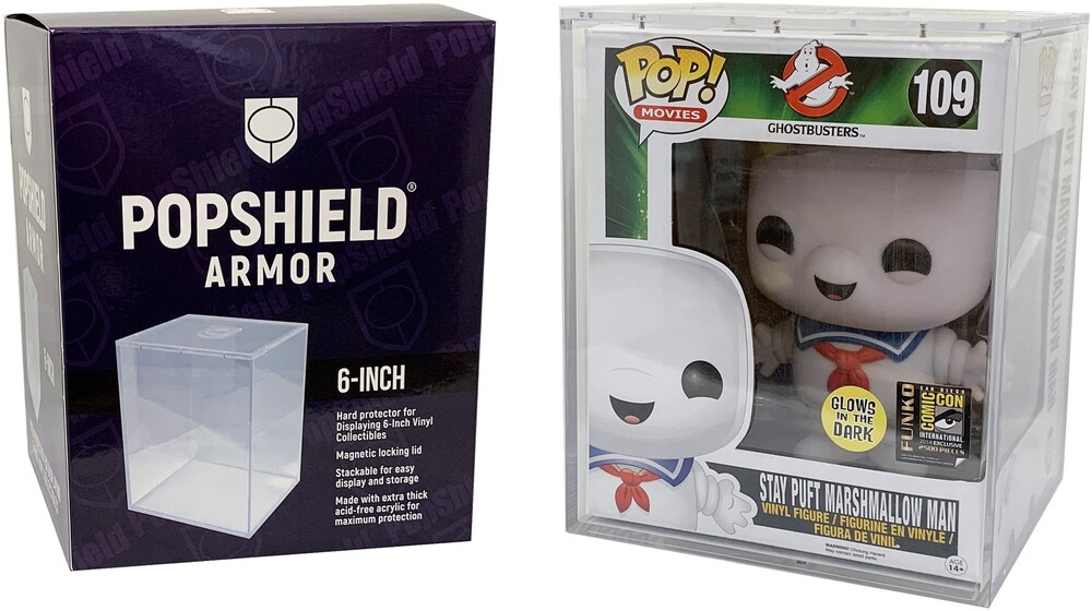 Popshield Armor Funko Pop! Hard Protectors for 6-I - Popshield Armor Funko Pop! Hard Protectors For 6-I