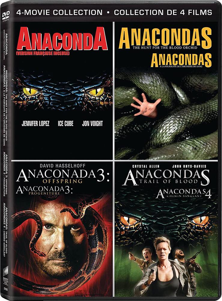 Anaconda / 3: Offspring / Hunt for Blood / Trail - Anaconda / Anaconda 3: Offspring / Hunt For The Blood Orchid / Trail Of Blood