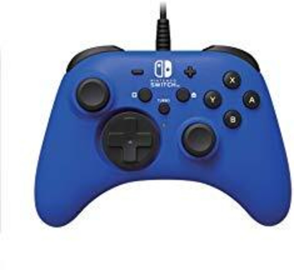 - HORI HORIPAD Wired Controller - Blue for Nintendo Switch