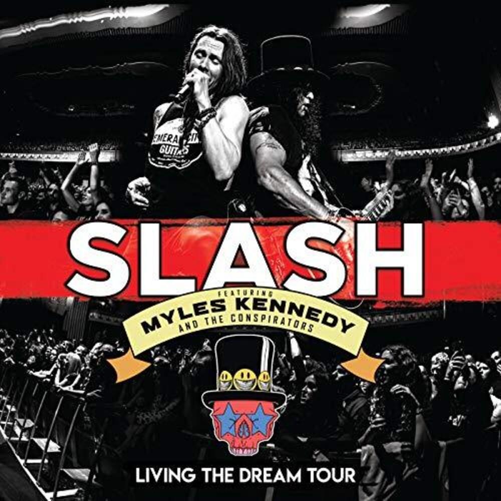 Slash Feat. Myles Kennedy & The Conspirators - Living The Dream Tour [3LP]