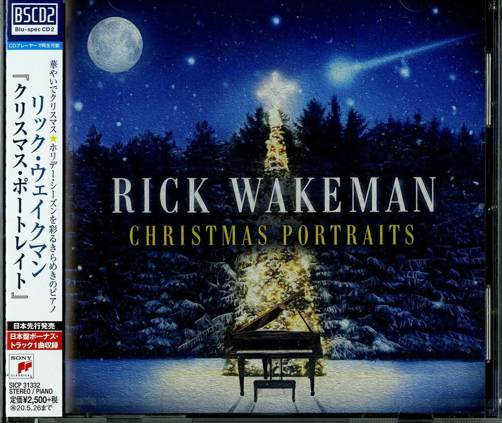 Rick Wakeman - Christmas Portraits (Bonus Track) (Blus) (Jpn)