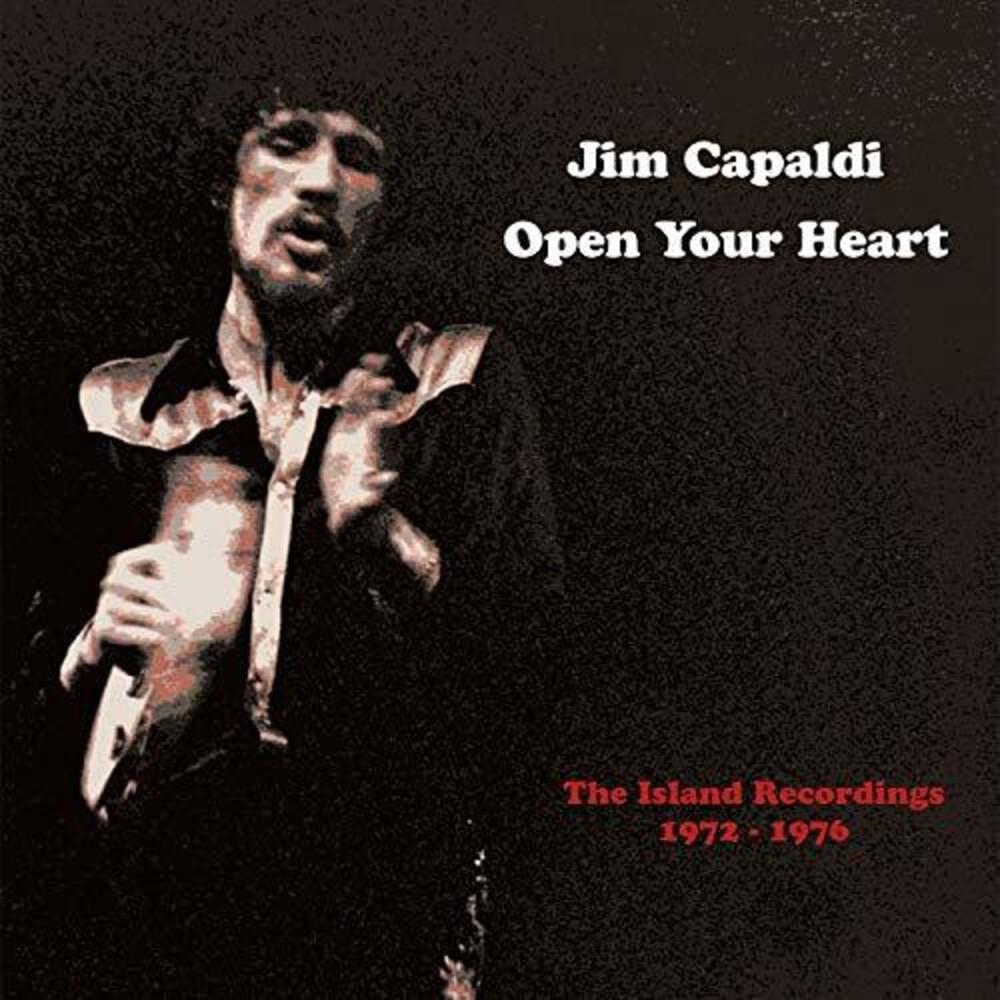Jim Capaldi - Open Your Heart: Island Recordings 1972-1976