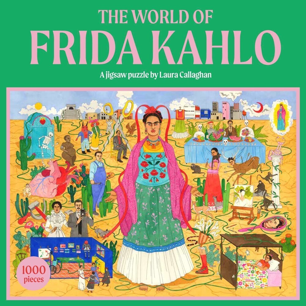 - The World of Frida Kahlo: A Jigsaw Puzzle