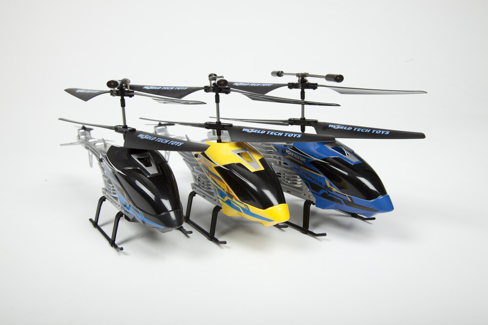 Rc Helicopters - 2CH: Rex Hercules IR UNBREAKABLE helicopter (One random color per transaction. Colors black, blue or yellow)