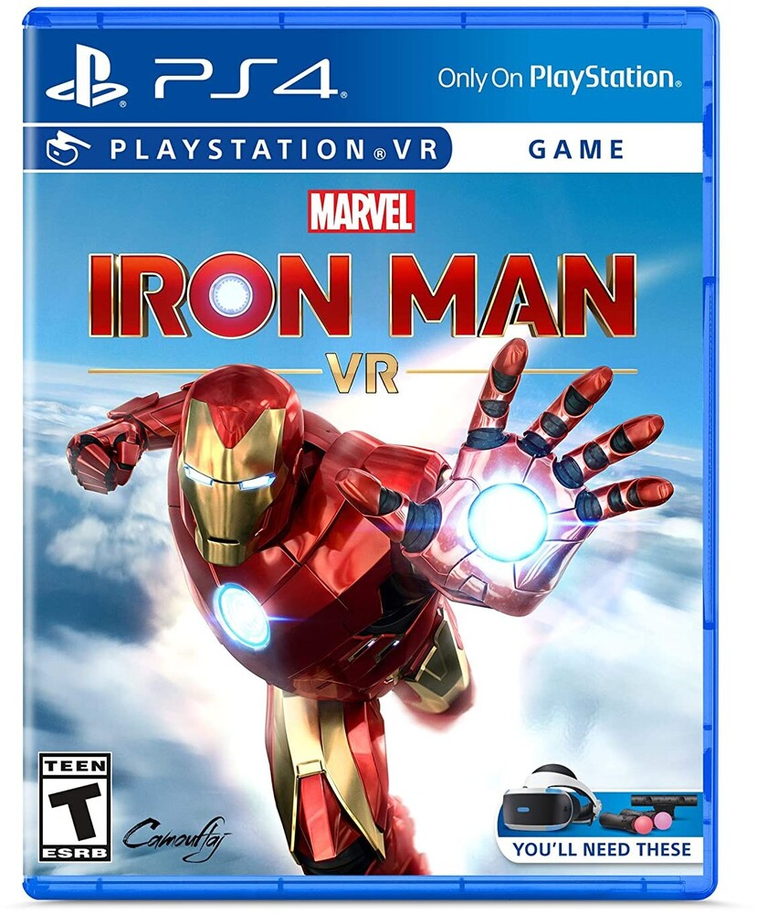 Pvr Marvel's Iron Man - Marvel's Iron Man VR for PlayStation 4