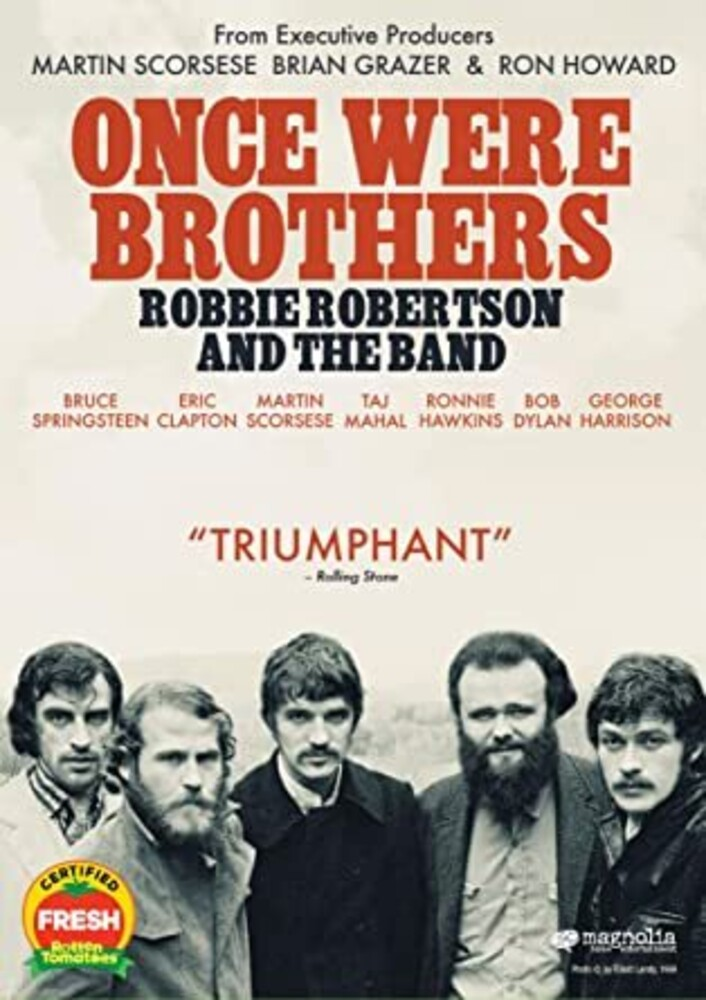 The Band - Once Were Brothers: Robby Robertson & The Band [DVD]