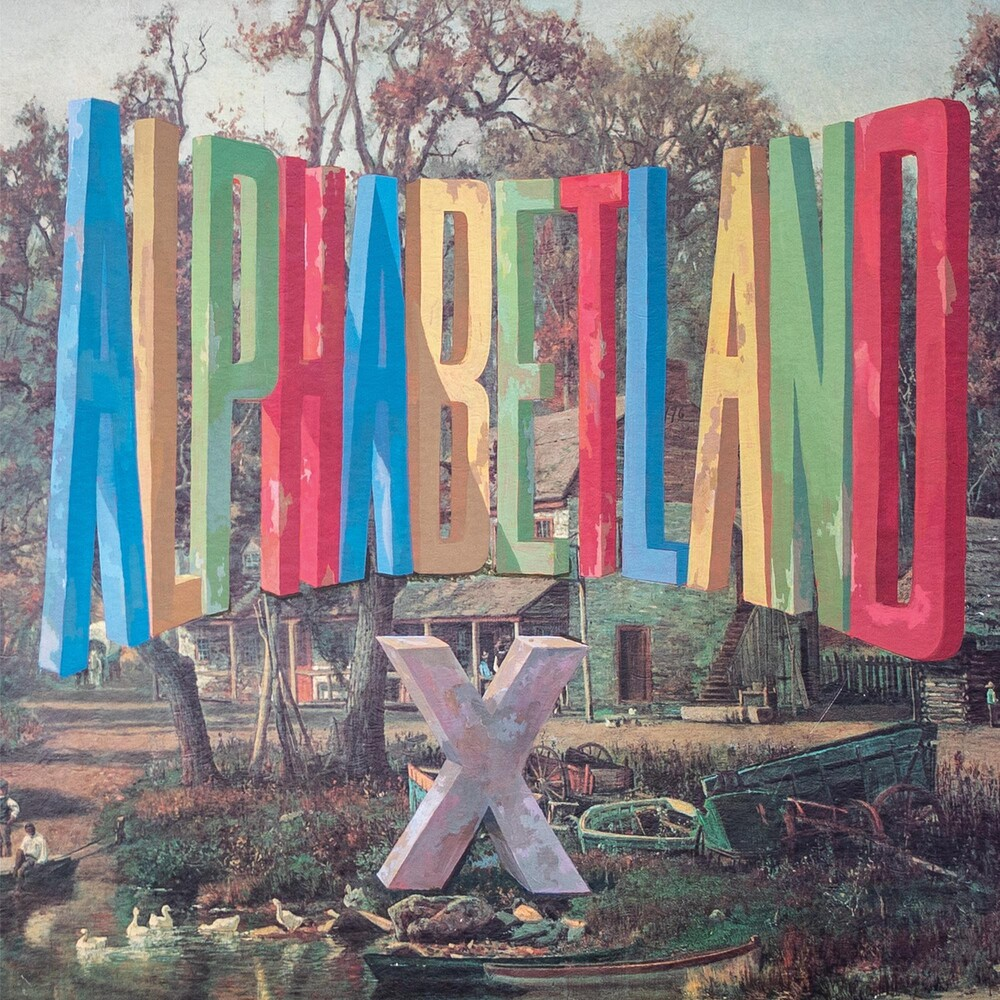X - ALPHABETLAND [Indie Exclusive Limited Edition Blue LP]