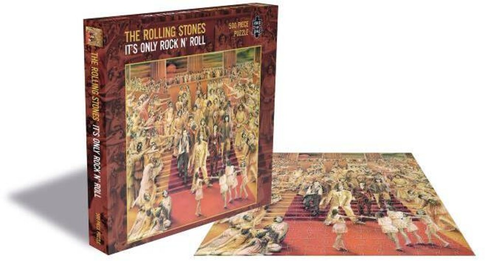 - Rolling Stones It's Only Rock N Roll (500 Piece Jigsaw Puzzle)