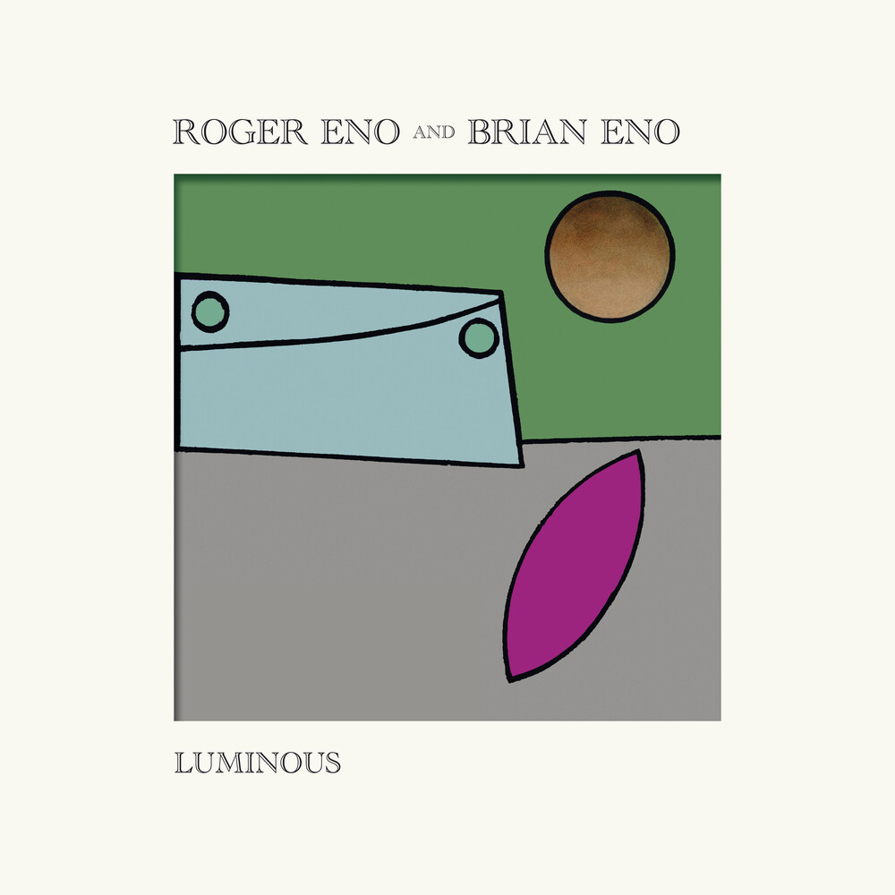 Roger Eno and Brian Eno - Luminous [LP]