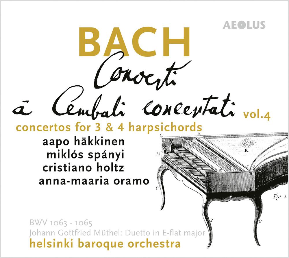 Muthel / Hakkinen / Oramo - Concerti A Cembalo 4 (Hybr)