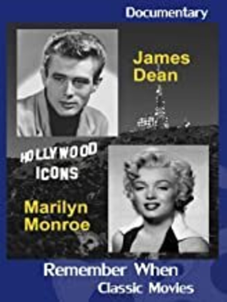 Hollywood Icons: James Dean & Marilyn Monroe - Hollywood Icons: James Dean & Marilyn Monroe
