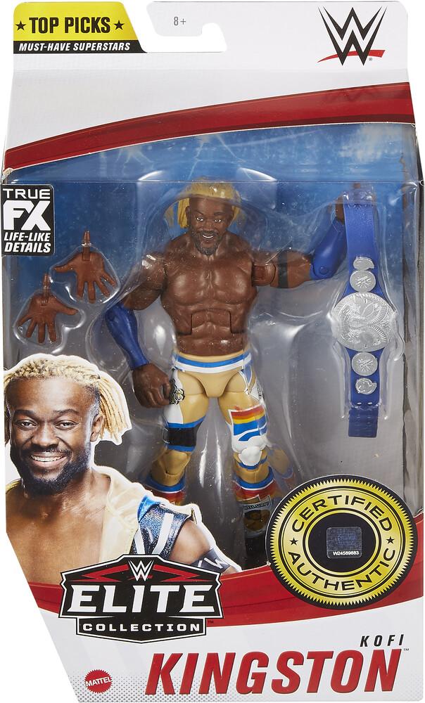 - Mattel Collectible - WWE Elite Top Pick Figure Kofi Kingston