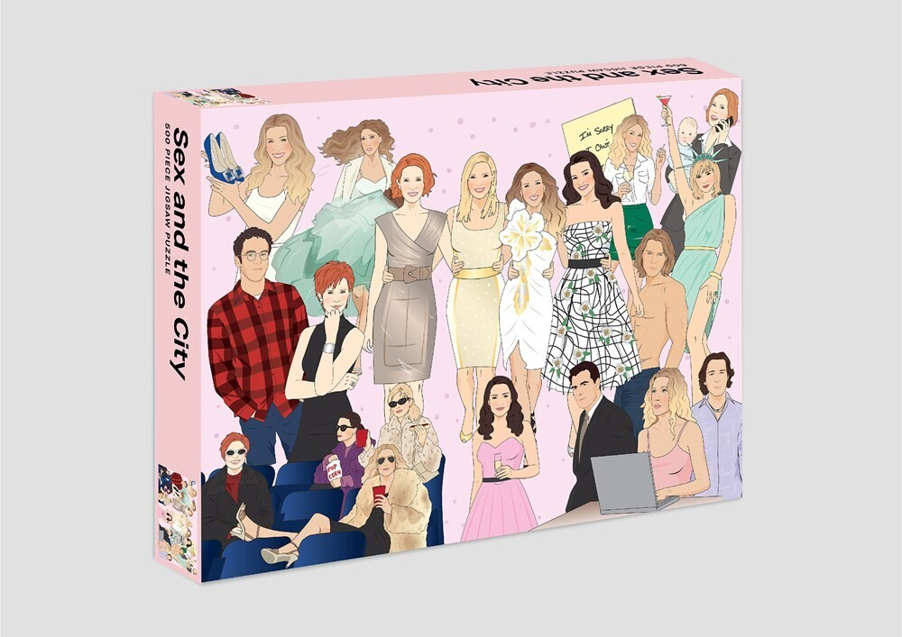 - Sex and the City: 500 Piece Jigsaw Puzzle