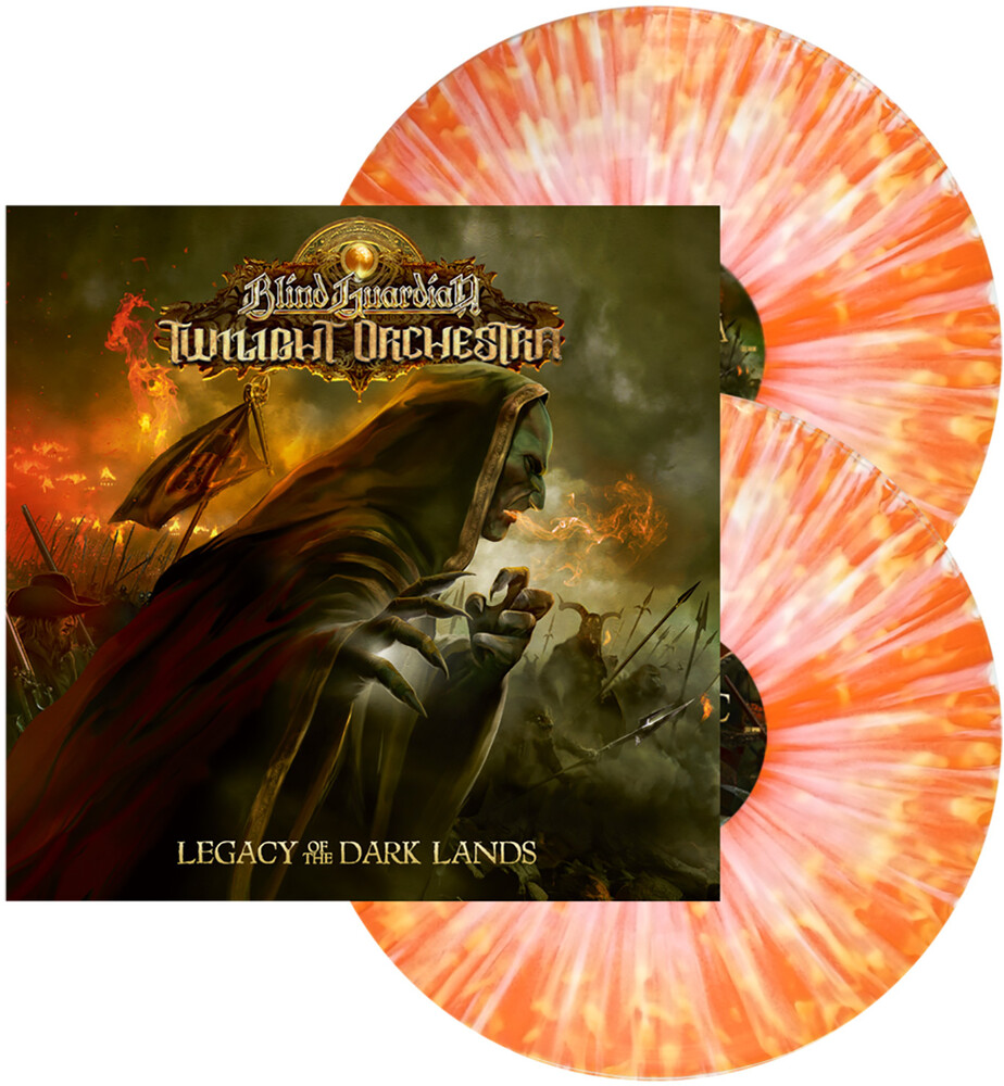 Blind Guardian Twilight Orchestra - Legacy Of The Dark Lands [Limited Edition Orange w/ Yellow Splatter 2LP]