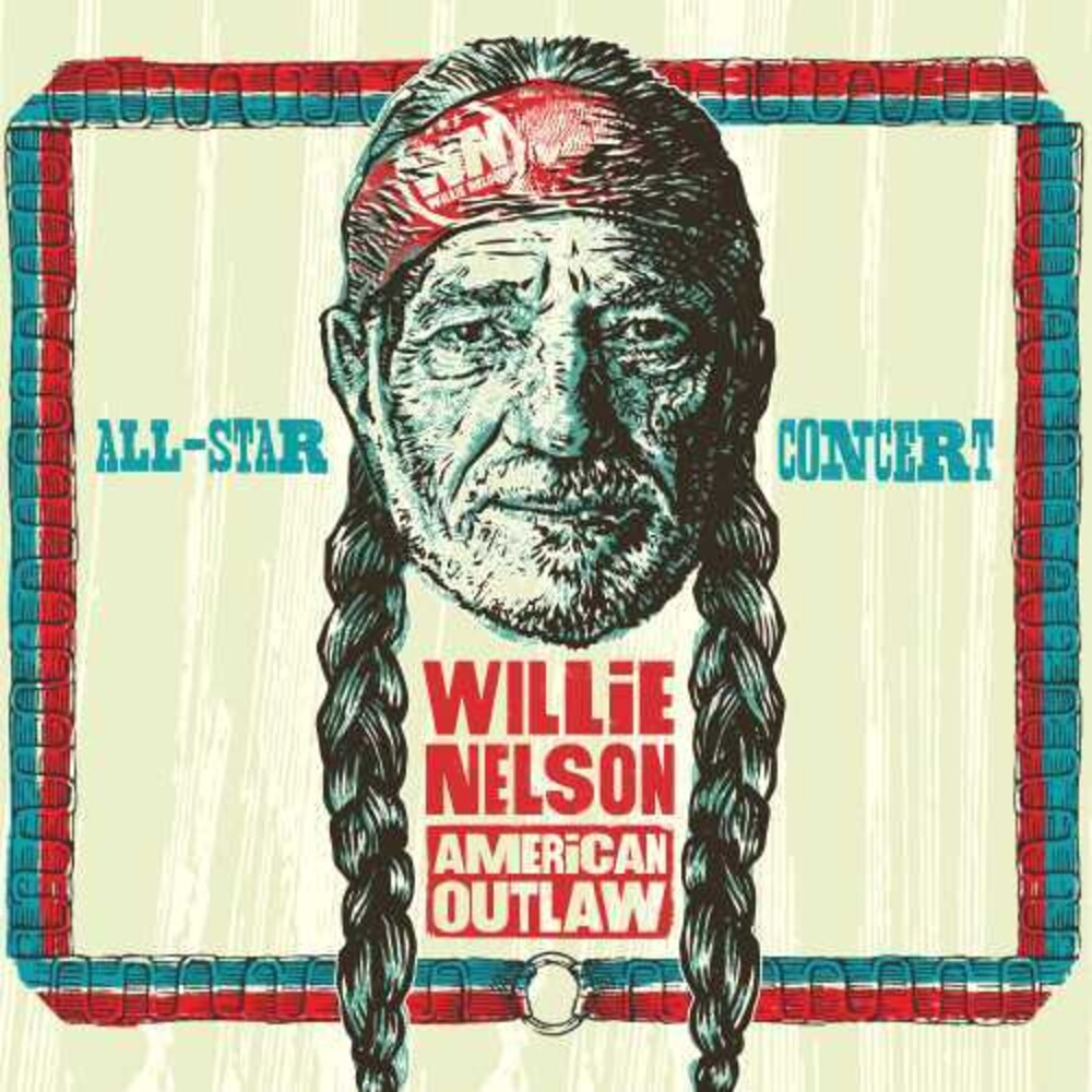 Various Artists - Willie Nelson American Outlaw (Live At Bridgestone Arena 2019) [Deluxe 2 CD/DVD]