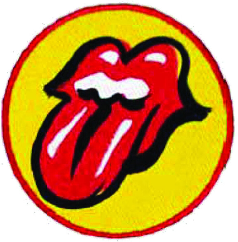Rolling Stones No Filter Tongue Embroidered Patch - The Rolling Stones No Filter Tongue Embroidered 2X3 Patch