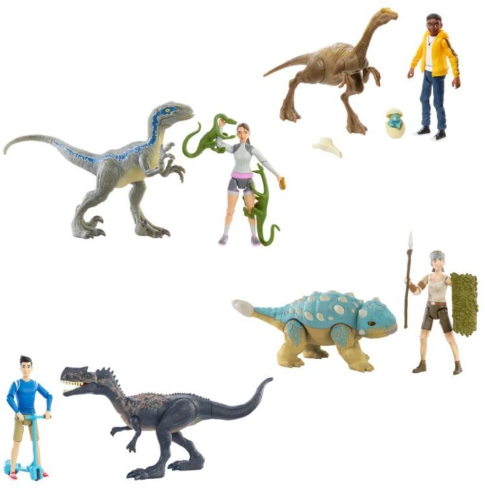 Jurassic World - Mattel - Jurassic World Human & Dino Pack Assortment