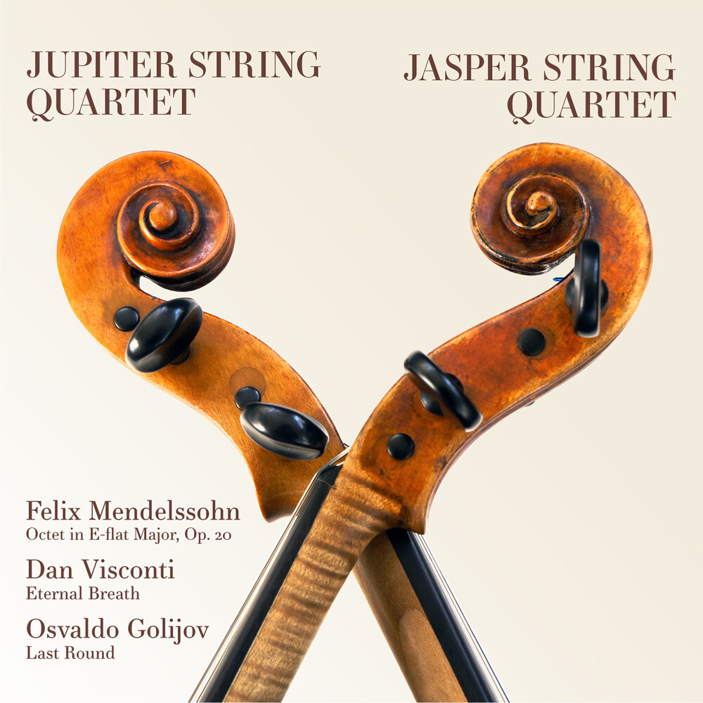 Jupiter String Quartet - Mendelssohn, Visconti, Golijov