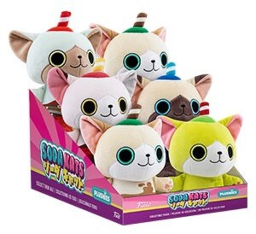 Funko Paka Paka Plush: - Soda Kats 7 6pc Pdq