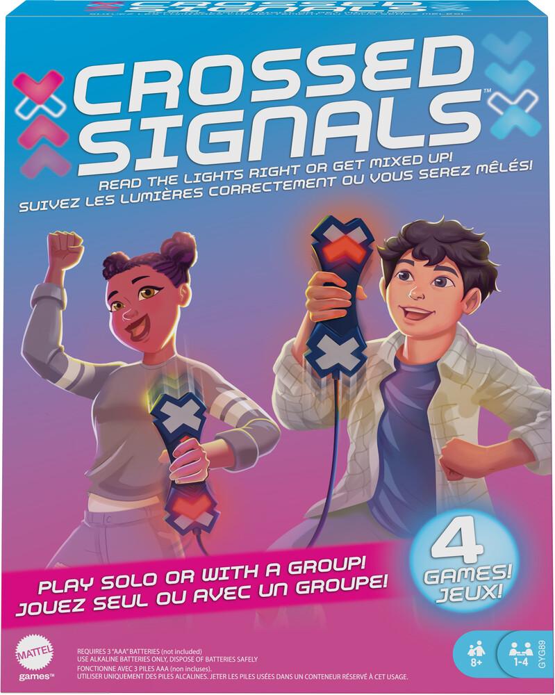 Games - Mattel Games - Crossed Signals Game