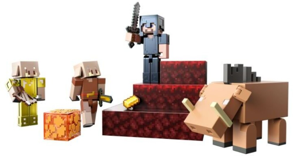 Minecraft - Mattel Collectible - Minecraft Nether Story Pack