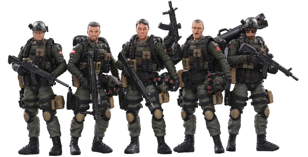 - Joy Toy Pla Army Anti-Terrorism Unit 1/18 Figure 5