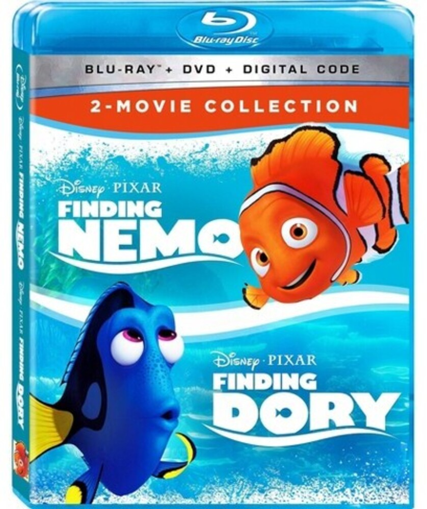 - Finding Nemo / Finding Dory 2-Movie Collection