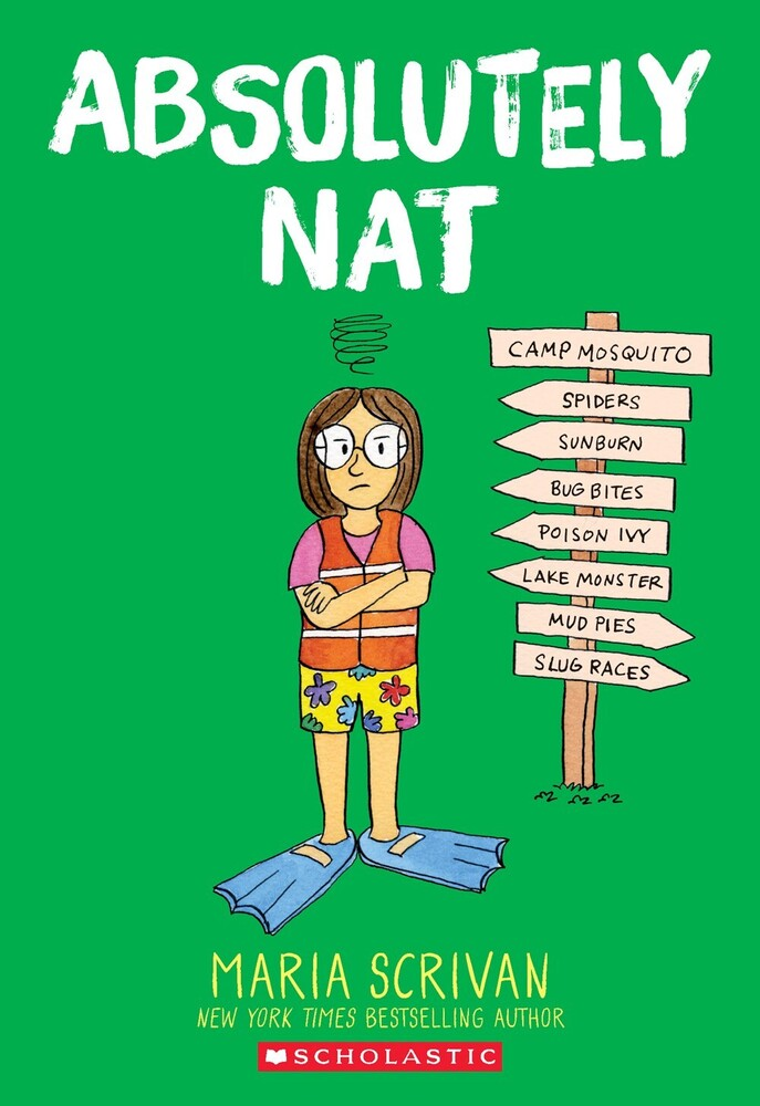 Maria Scrivan - Absolutely Nat (Gnov) (Ppbk) (Ser)