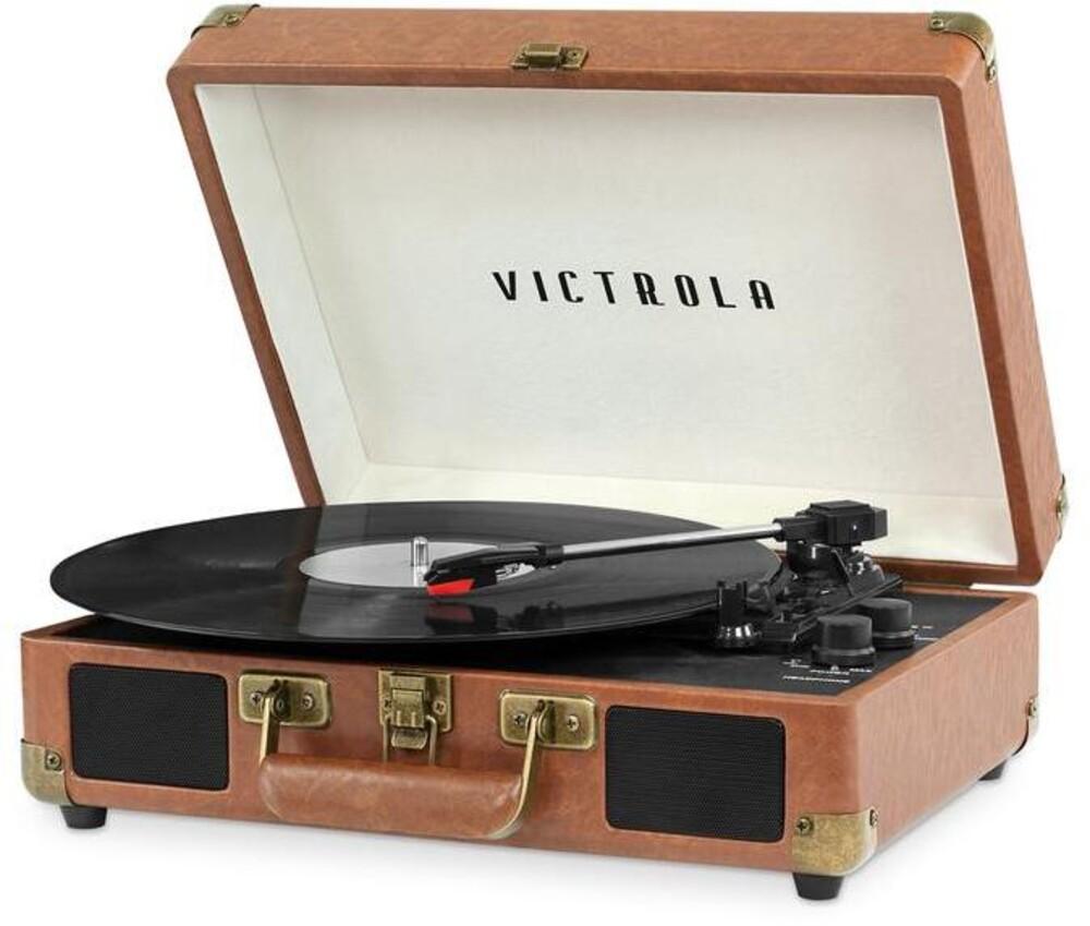 Victrola Vsc-550-Lbr Bt Prtbl Turntable Lgt Brown - Victrola Vsc-550-Lbr Bt Prtbl Turntable Lgt Brown
