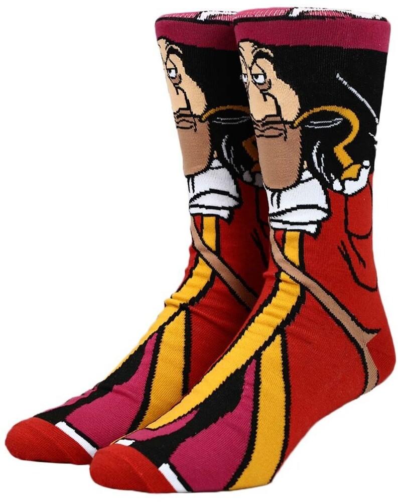 - Disney Villians Captain Hook Crew Socks 8-12
