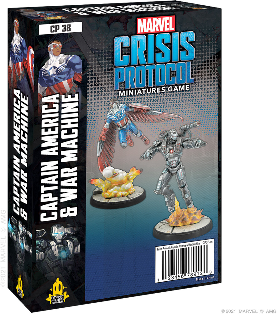 Marvel Crisis Protocol Captain America War Machine - Marvel Crisis Protocol Captain America War Machine