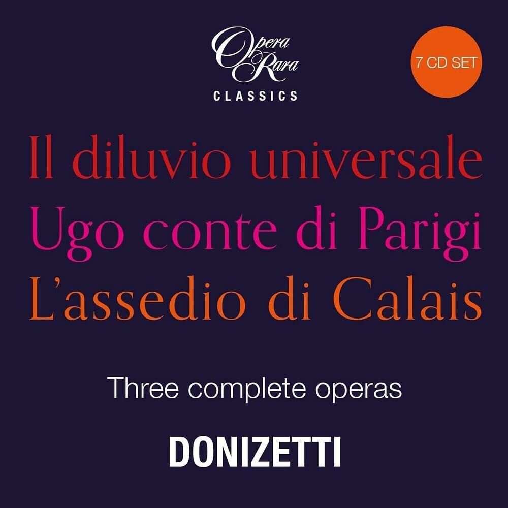 Gaetano Donizetti - Donizetti In The 1830s: Three Complete Operas (Uk)