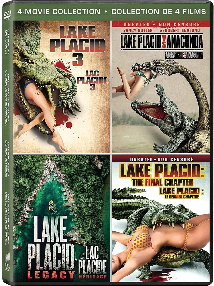 Lake Placid 3 / vs Anaconda / Legacy / Final Chapt - Lake Placid 3 / Lake Placid Vs. Anaconda / Lake Placid: Legacy / Lake Placid: The Final Chapter
