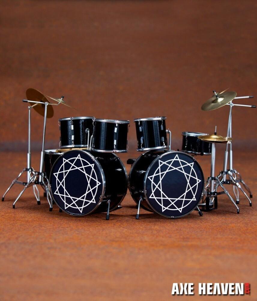 Joey Jordison Slipknot Mini Drum Kit Replica - Joey Jordison Slipknot Mini Drum Kit Replica (Fig)