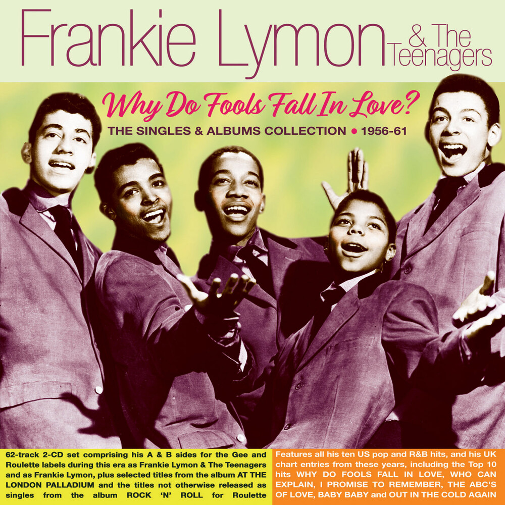 Frankie Lymon  & The Teenagers - Why Do Fools Fall In Love?