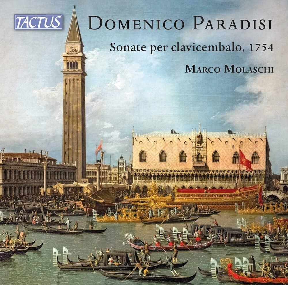 Paradisi / Molaschi - Sonate Per Clavicembalo (2pk)