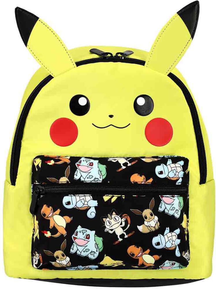 Pokemon Pikachu Decorative 3D Mini Backpack - Pokemon Pikachu Decorative 3d Mini Backpack (Back)