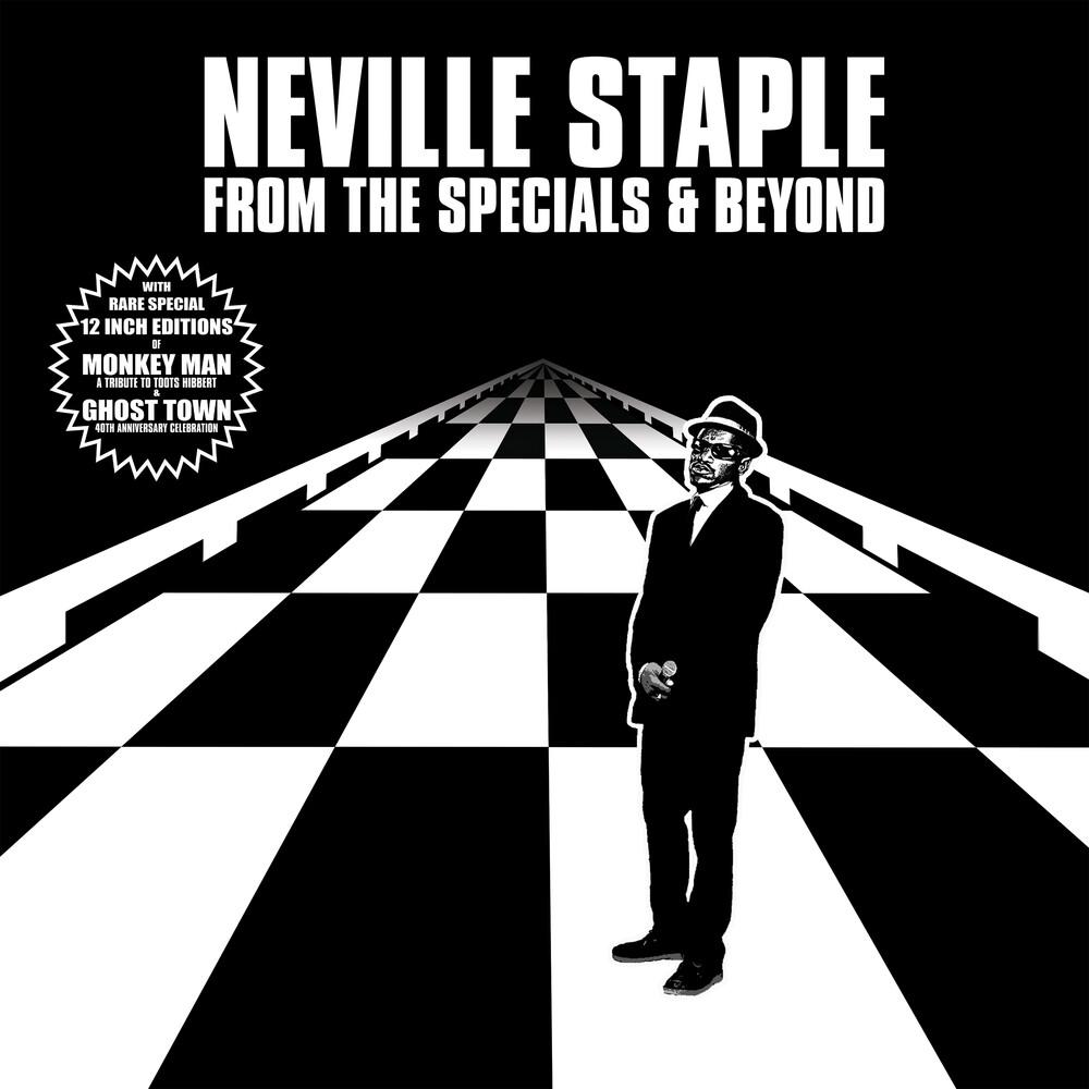 Neville Staple - From The Specials & Beyond (Black & White Splatter
