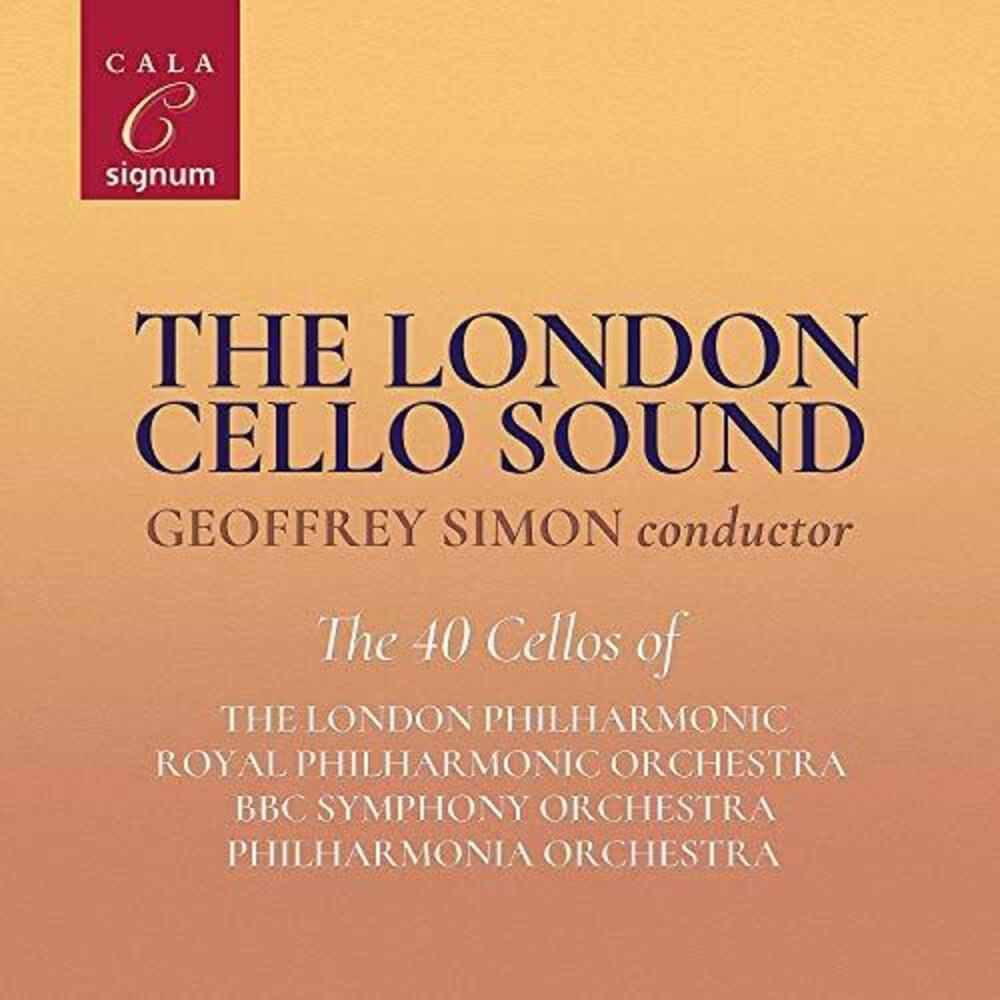 Bernstein / London Cello Sound / Simon - London Cello Sound