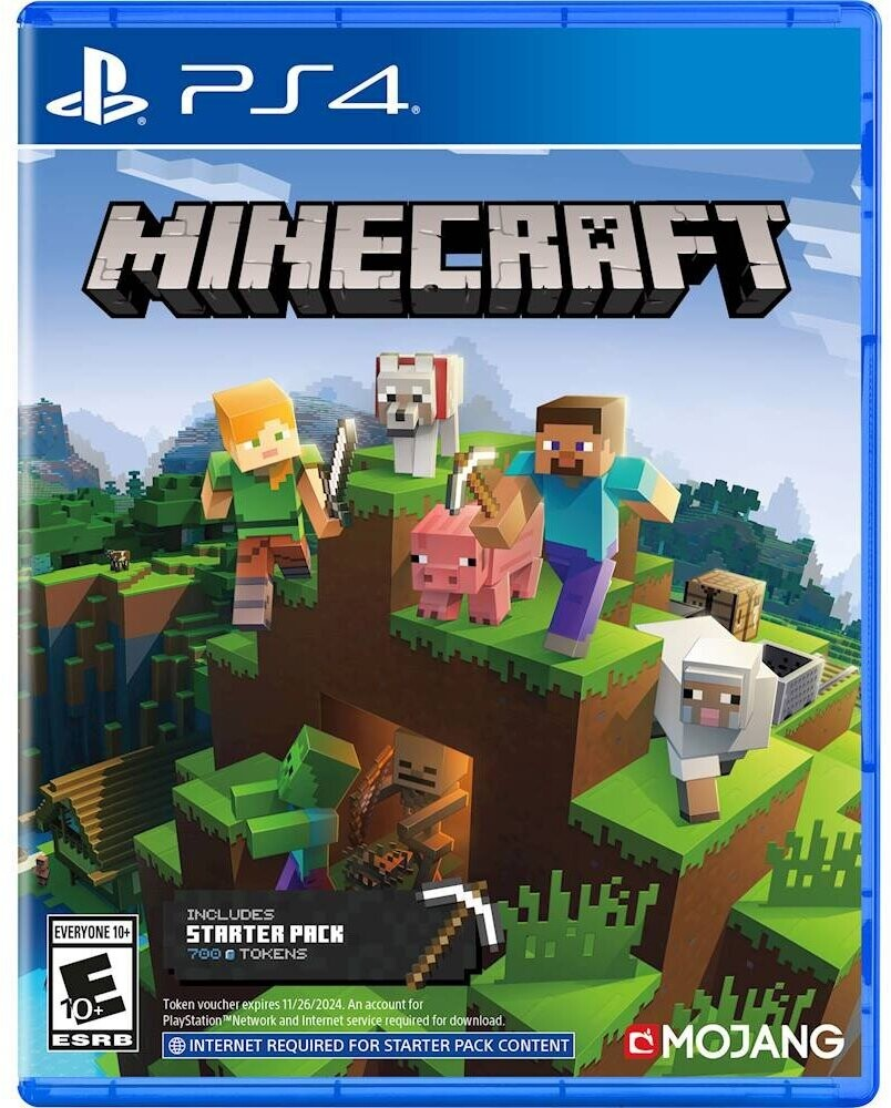 - Minecraft Starter Collection for PlayStation 4