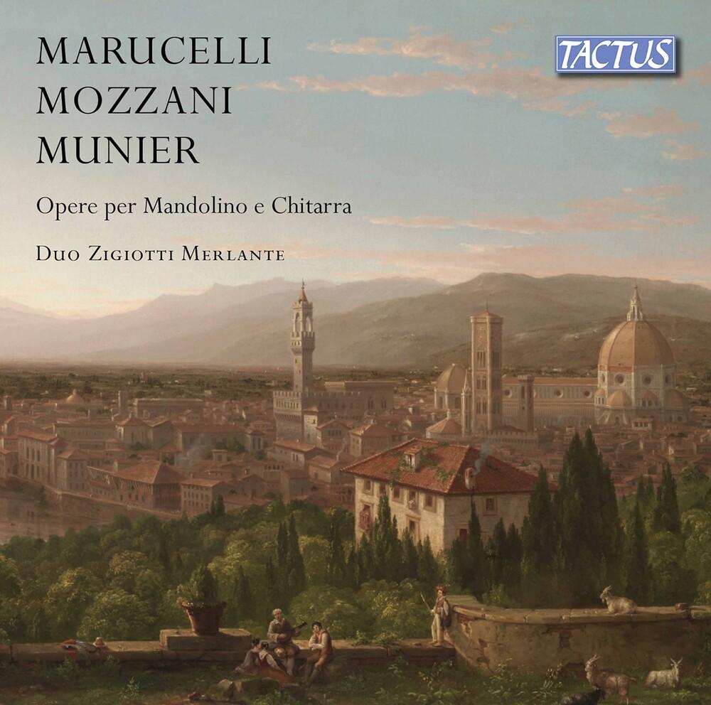 Marucelli / Duo Zigiotti Merlante - Works for Mandolin & Guitar
