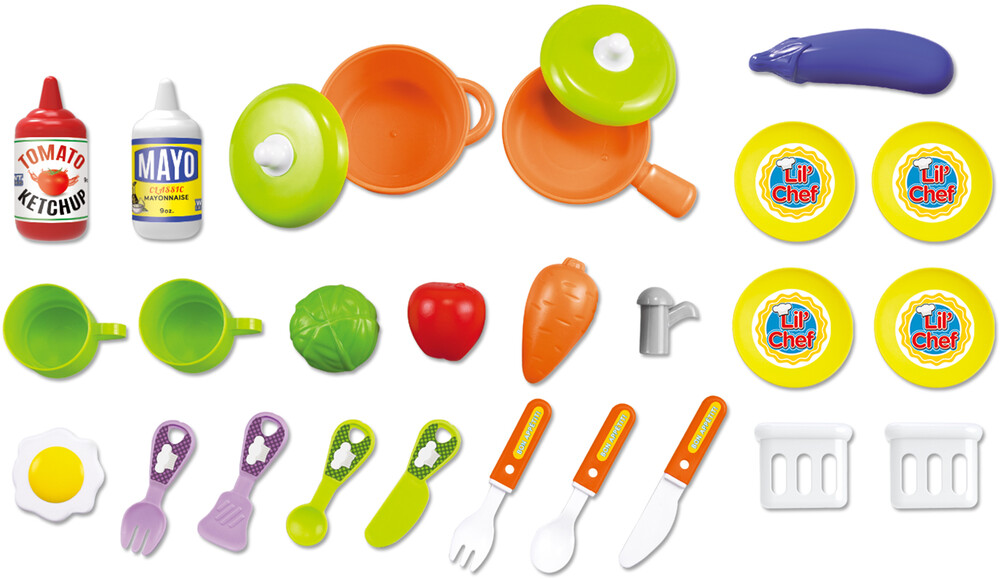 Playsets - 'Lil Chef Boys Mobile Suitcase Playset