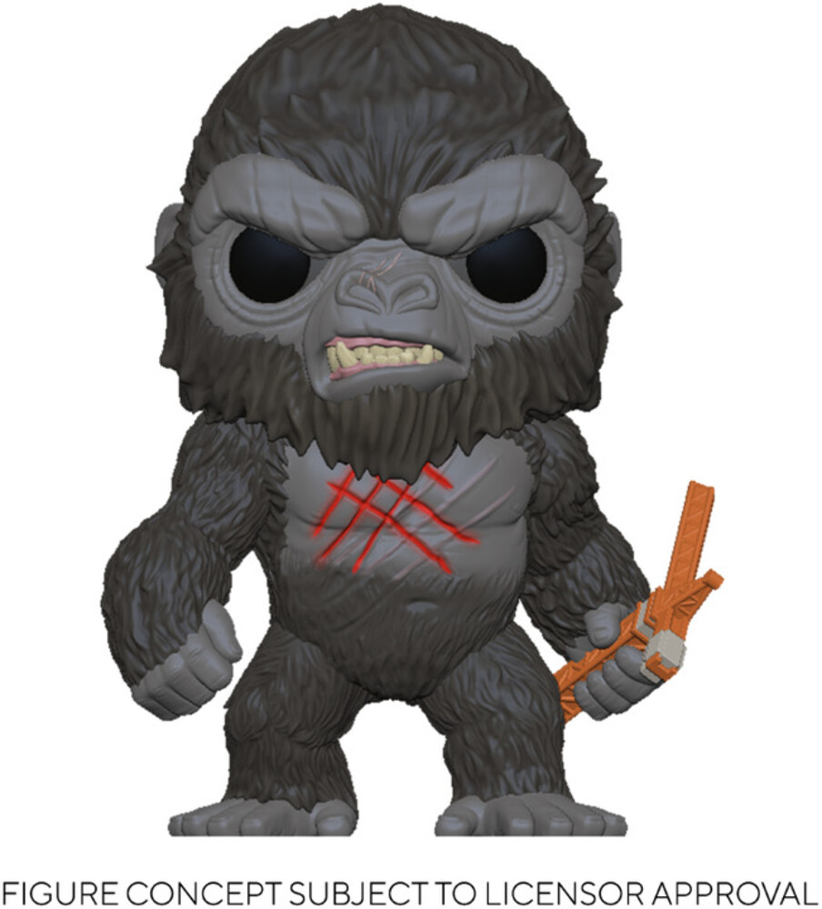 - FUNKO POP! MOVIES: Godzilla Vs Kong - Battle -Scarred Kong