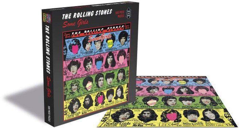 - Rolling Stones Some Girls (500 Piece Jigsaw Puzzle)