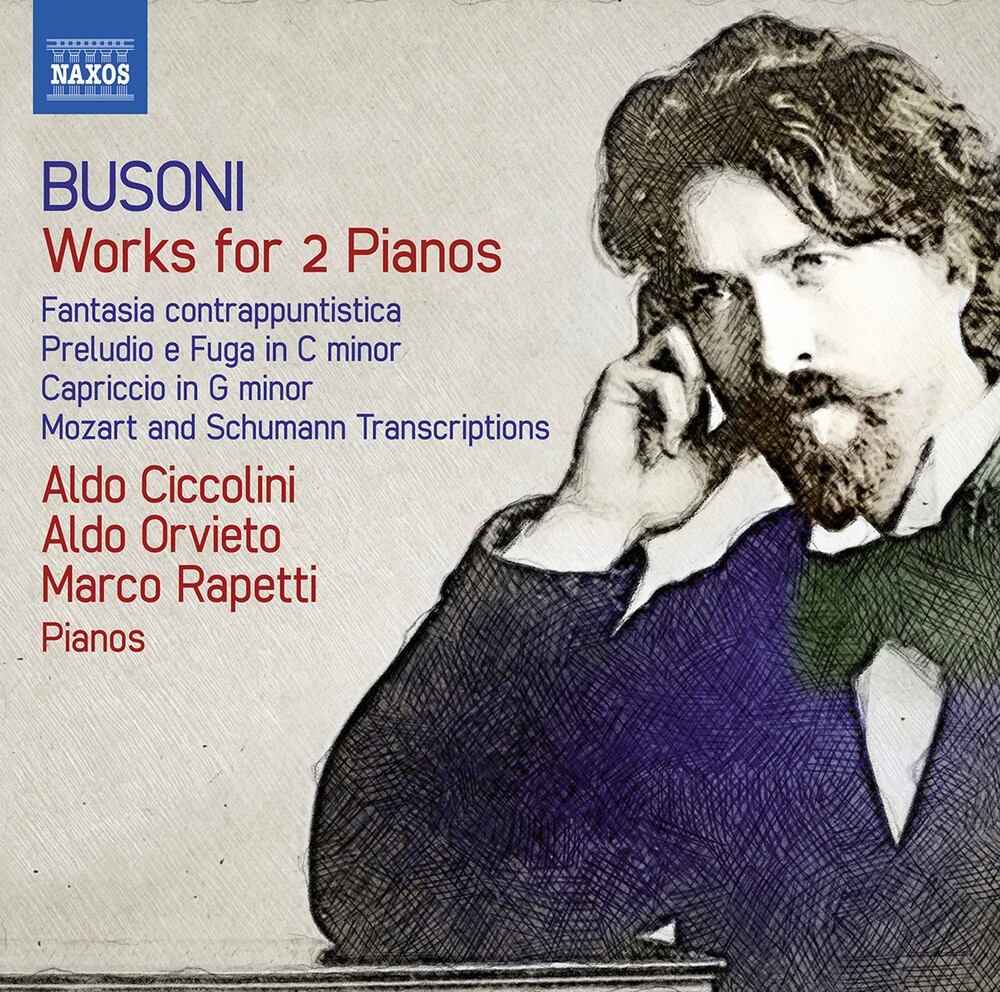 Aldo Orvieto - Works For 2 Pianos