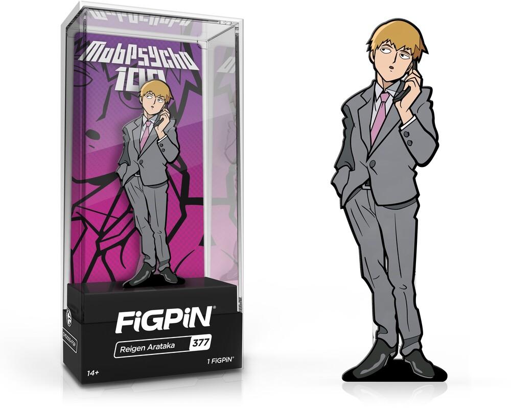 Mob Psycho: Reigen Arataka Figpin #377 - FiGPiN - Mob Psycho - Reigen Arataka #377