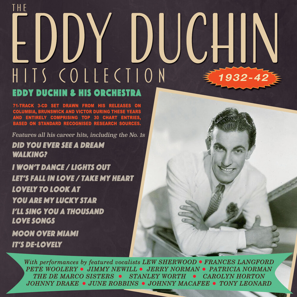 Eddy Duchin & His Orchestra - Eddy Duchin Hits Collection 1932-42