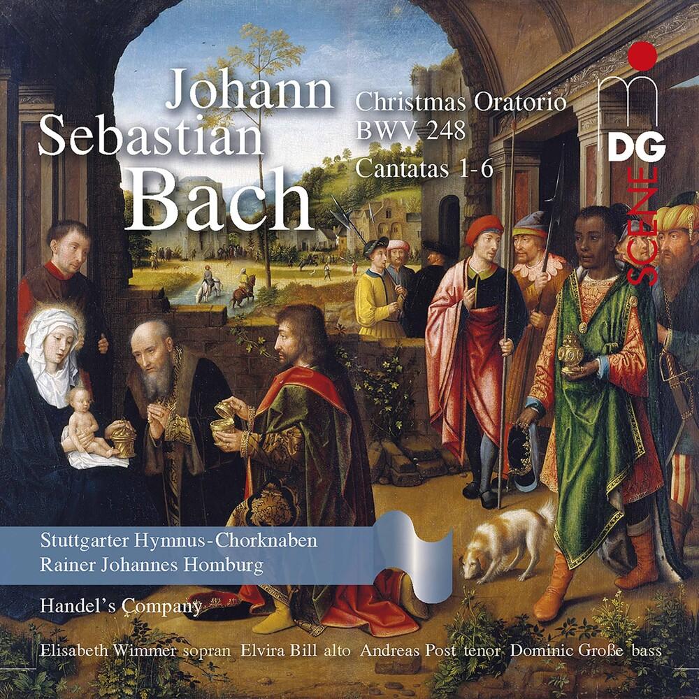 J Bach S / Homburg - Christmas Oratorio Bwv 248 (Hybr) (2pk)
